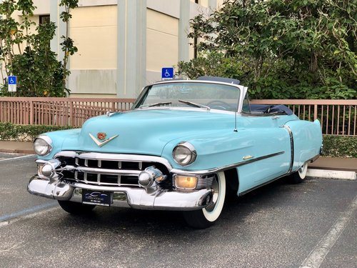 1953 CADILLAC SERIES 62 CONVERTIBLE RESTORED  For Sale (picture 6 of 6)