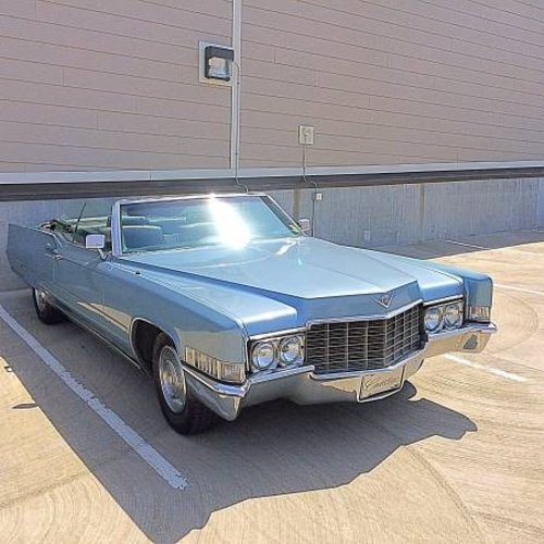 1969 Cadillac Deville Convertible Clean Blueblack 169 For