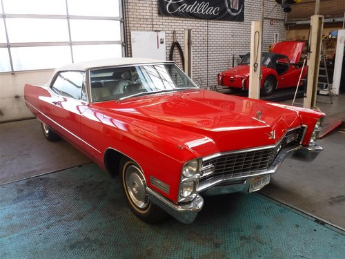 1967 Perfectly running / driving Cadillac de Ville Cabrio For Sale (picture 2 of 6)