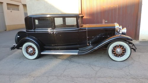 LHD - Cadillac 355A year 1931 - restored. For Sale (picture 1 of 3)