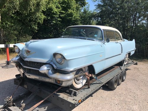1956 Cadillac S62 coupe ex Robbie Coltrane/'Hagrid' clean  For Sale (picture 1 of 6)