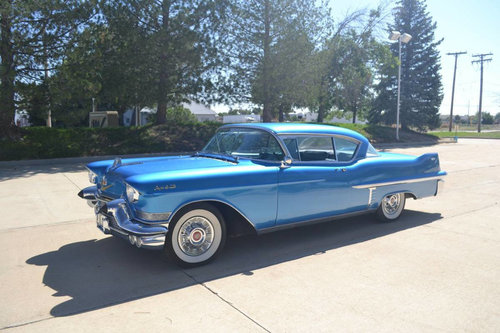 1957 Cadillac Coupe DeVille * Blue For Sale (picture 1 of 6)