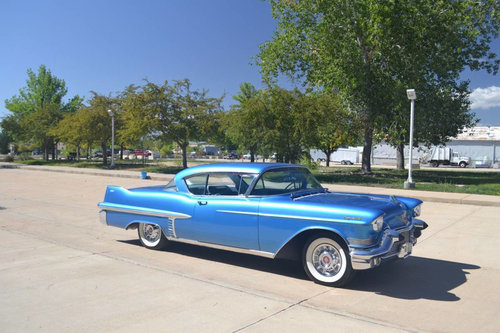 1957 Cadillac Coupe DeVille * Blue For Sale (picture 2 of 6)