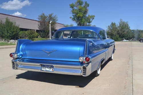 1957 Cadillac Coupe DeVille * Blue For Sale (picture 4 of 6)