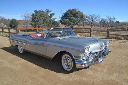 1957 Cadillac 62 Convertible For Sale (picture 1 of 6)