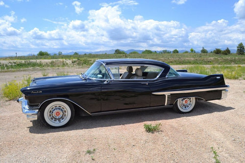 1957 Cadillac Coupe DeVille For Sale (picture 1 of 6)