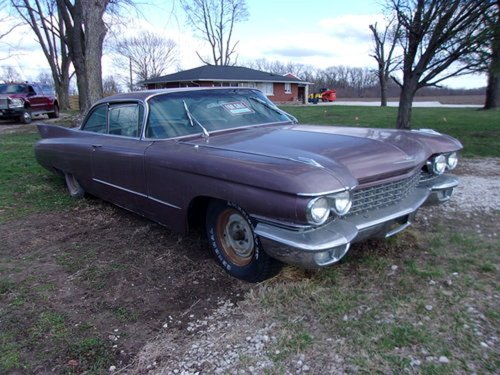 1960 Cadillac Coupe DeVille For Sale (picture 1 of 6)