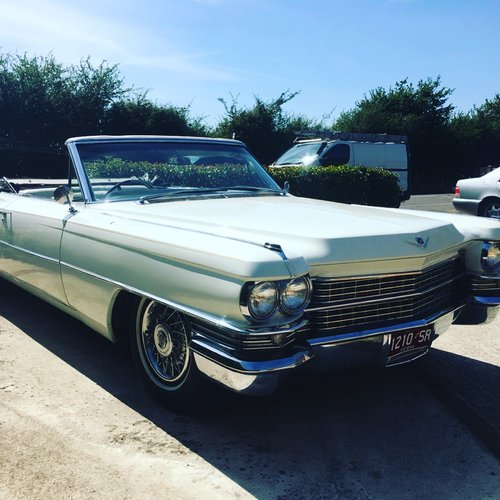 1963 Cadillac Convertible , RHD For Sale