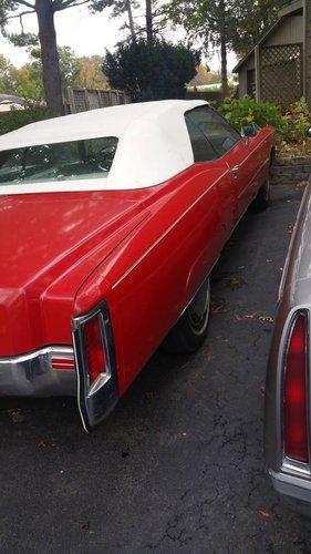 1972 Cadilac Eldorado Convertible For Sale (picture 3 of 5)
