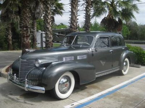 1940 Cadillac Fleetwood 4DR Sedan For Sale (picture 1 of 6)