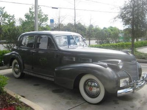 1940 Cadillac Fleetwood 4DR Sedan For Sale (picture 2 of 6)