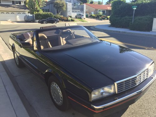 Very rare 1988 Cadillac Allante for sale. For Sale (picture 1 of 3)
