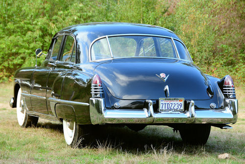 1948 Very clean and rustfree California Cadillac 62-Series sedan  For Sale (picture 3 of 6)