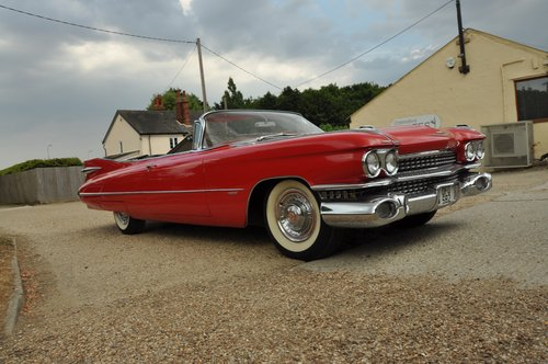 Cadillac convertible series 62 1959 For Sale (picture 1 of 6)