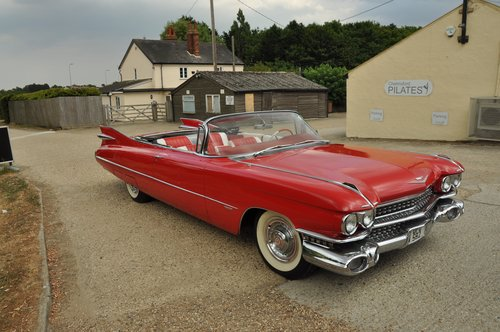 Cadillac convertible series 62 1959 For Sale (picture 2 of 6)