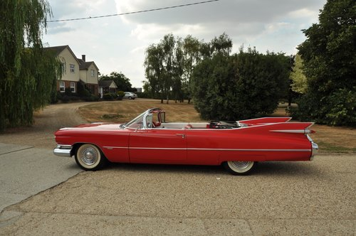 Cadillac convertible series 62 1959 For Sale (picture 3 of 6)