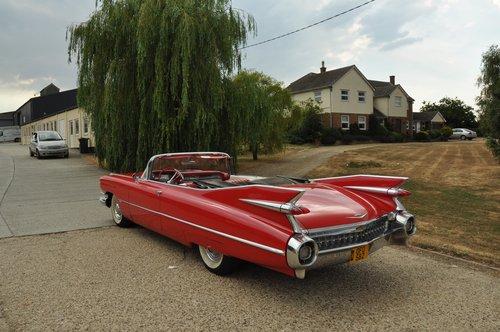 Cadillac convertible series 62 1959 For Sale (picture 4 of 6)
