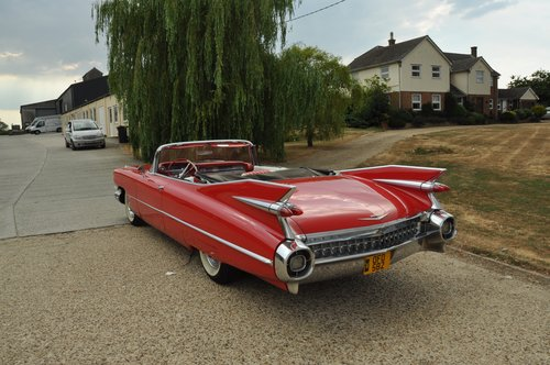 Cadillac convertible series 62 1959 For Sale (picture 5 of 6)