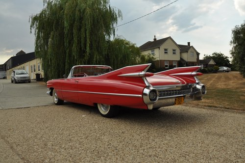 Cadillac convertible series 62 1959 For Sale (picture 6 of 6)