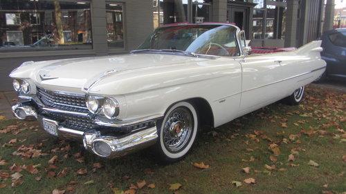 Cadillac de Ville Conv 1959     & 50 USA Classics For Sale (picture 2 of 6)