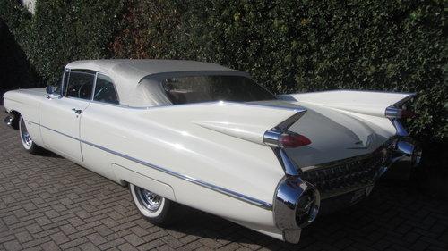 Cadillac de Ville Conv 1959     & 50 USA Classics For Sale (picture 4 of 6)