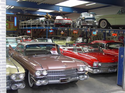 Cadillac de Ville Conv 1959     & 50 USA Classics For Sale (picture 6 of 6)