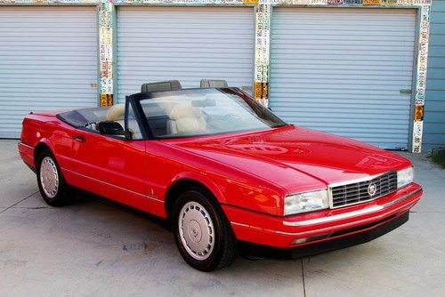 1990 Cadillac Allante Convertible  For Sale (picture 1 of 6)