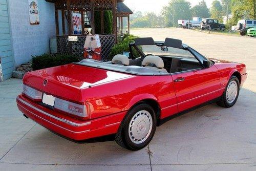 1990 Cadillac Allante Convertible  For Sale (picture 2 of 6)