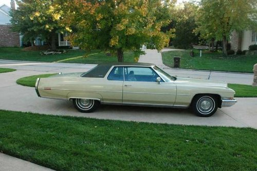 1972 Cadillac Coupe deVille For Sale (picture 1 of 6)