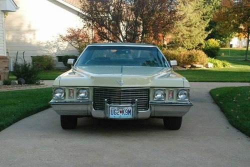 1972 Cadillac Coupe deVille For Sale (picture 2 of 6)