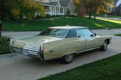 1972 Cadillac Coupe deVille For Sale (picture 3 of 6)