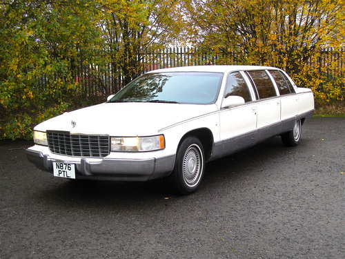 1996 Cadillac Fleetwood Limousine For Sale (picture 1 of 6)