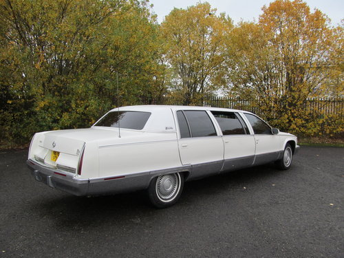 1996 Cadillac Fleetwood Limousine For Sale (picture 3 of 6)