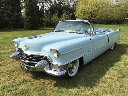 STUNNING 1955 CADILLAC SERIES 62 CONVERTIBLE  For Sale (picture 1 of 6)