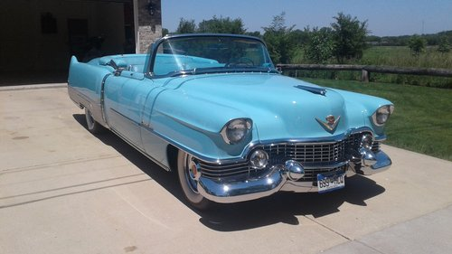 1954 Cadillac Eldodrado Convertible For Sale (picture 1 of 6)