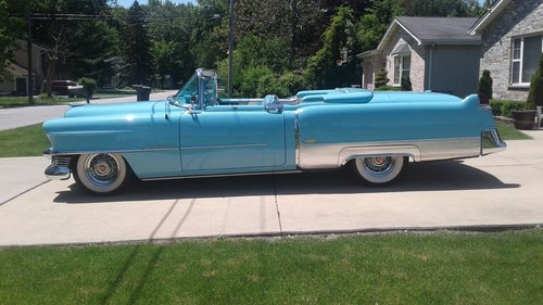 1954 Cadillac Eldodrado Convertible For Sale (picture 2 of 6)