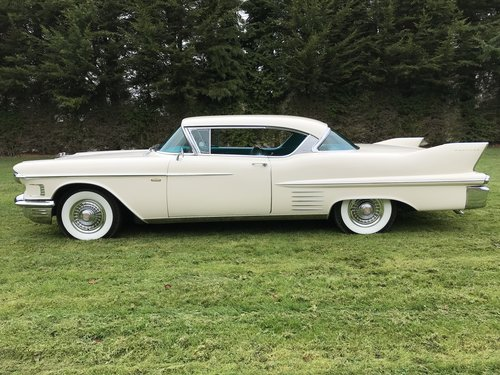 1958 CADILLAC COUPE - STUNNING CAR - CLEAN ORIGINAL CAR For Sale (picture 2 of 6)