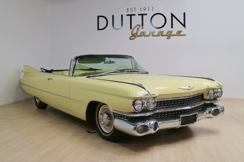 1959 Cadillac Series 62 Convertible For Sale (picture 1 of 6)