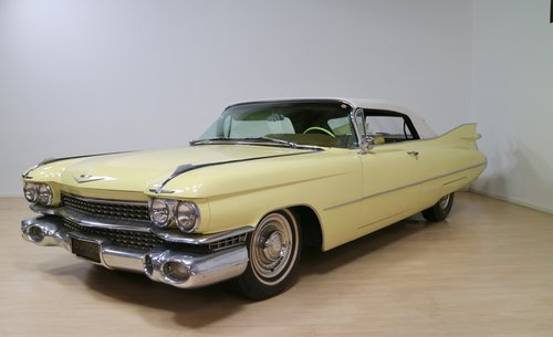 1959 Cadillac Series 62 Convertible For Sale (picture 3 of 6)