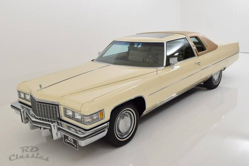 1976 Cadillac Deville 2D Coupe *Luxuswagen* For Sale (picture 1 of 6)