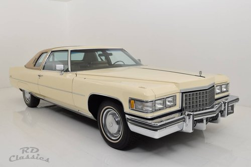 1976 Cadillac Deville 2D Coupe *Luxuswagen* For Sale (picture 2 of 6)