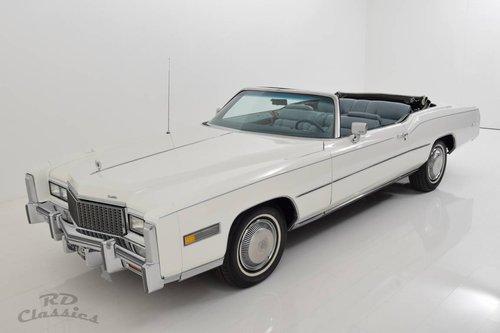 1976 Cadillac Eldorado Convertible  For Sale (picture 1 of 6)