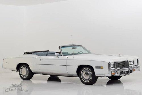 1976 Cadillac Eldorado Convertible  For Sale (picture 2 of 6)