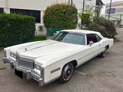 CADILLAC ELDORADO CONVERTIBLE 1975 For Sale (picture 1 of 6)