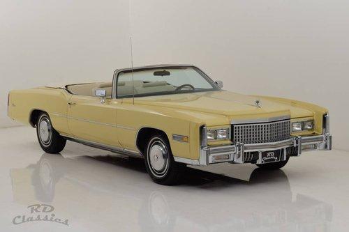 1975 Cadillac Eldorado Convertible For Sale (picture 1 of 6)