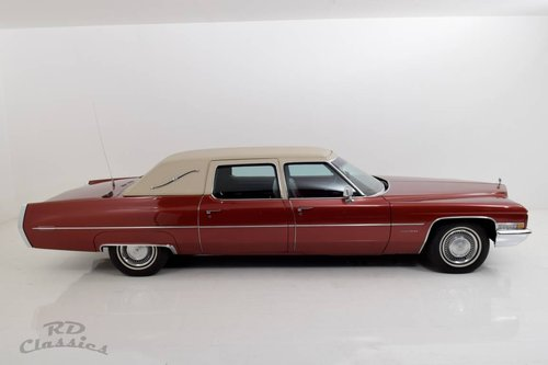 1971 Cadillac Fleetwood Series 75 Executive Limousine / Ein For Sale (picture 1 of 6)