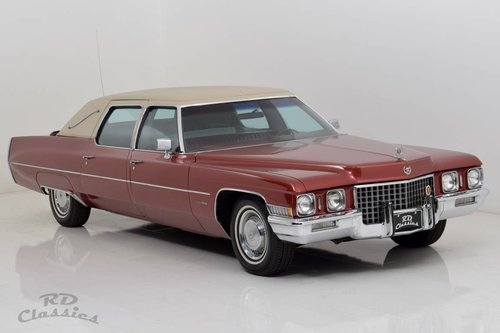 1971 Cadillac Fleetwood Series 75 Executive Limousine / Ein For Sale (picture 2 of 6)
