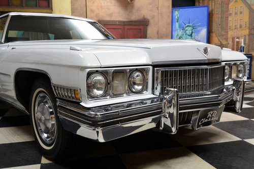 1973 Cadillac Deville Coupe 2D *Luxus Ausstattung* For Sale (picture 1 of 6)