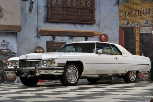 1973 Cadillac Deville Coupe 2D *Luxus Ausstattung* For Sale (picture 2 of 6)