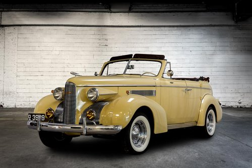 Cadillac LaSalle 4 doors Convertible 1939 For Sale (picture 1 of 5)